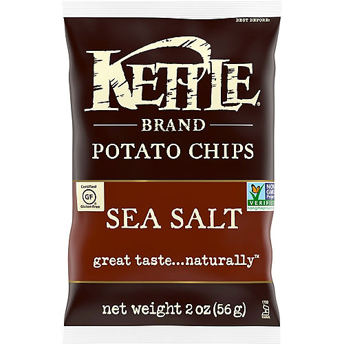 Kettle Brand Potato Chips, 2oz - Sea Salt Image #1