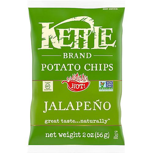Kettle Brand Potato Chips, 2oz - Jalapeno Image #1