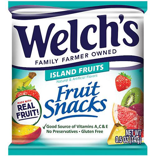 Welch's® Fruit Snacks, 0.5oz - Island Fruits Image #1