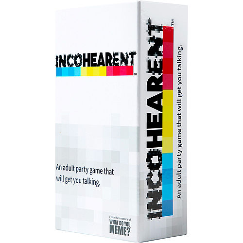 Incohearent - Adult Party Game Image #1