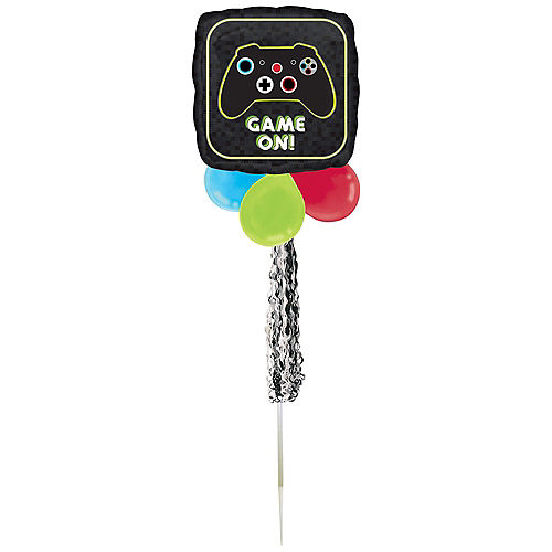 Air-Filled Game On Foil & Latex Balloon Yard Sign, 62in Image #2
