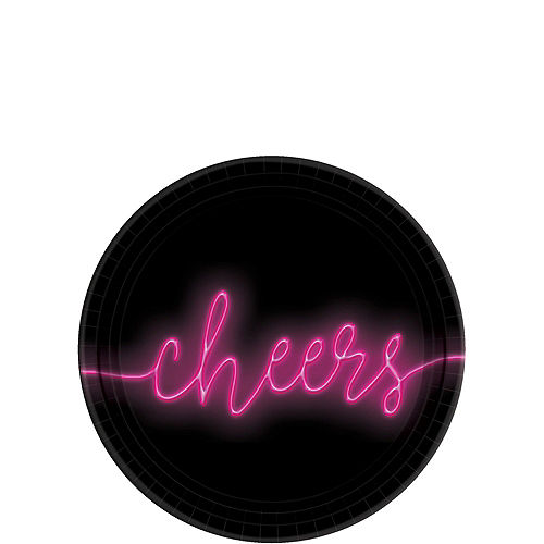 Neon Glow New Year's Party Kit for 16 Guests Image #2