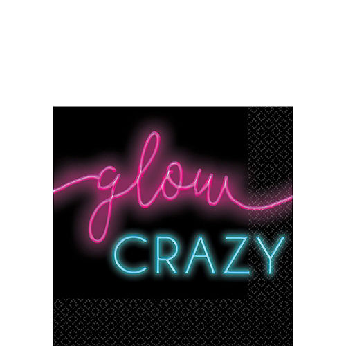 Neon Glow New Year's Party Kit for 16 Guests Image #4
