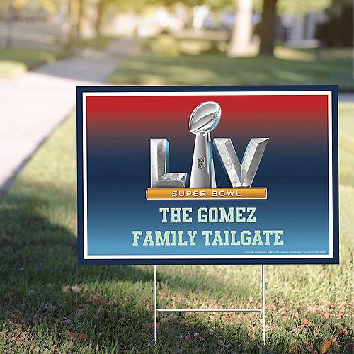 Custom Super Bowl 55 Yard Sign Image #1