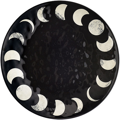 Lunar Black & White Happy Halloween Serveware Kit Image #4