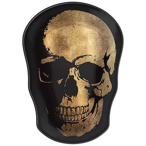 Metallic Glam Boneyard Halloween Serveware Kit Image #2