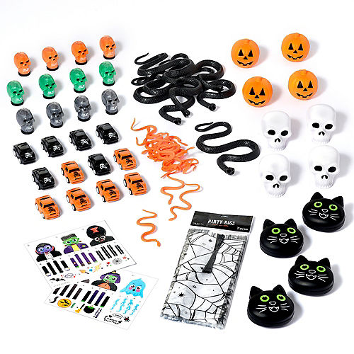 Spiderweb Halloween Boo Kit for 12 Guests Image #1