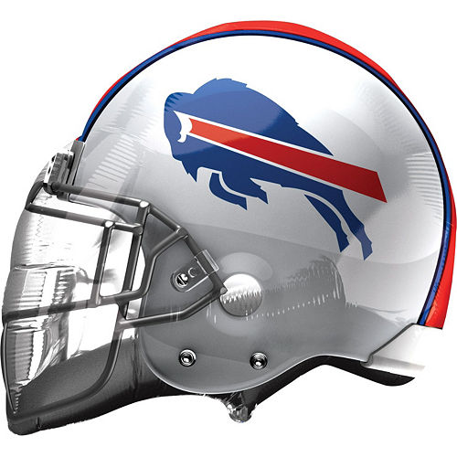Buffalo Bills Helmet Foil Balloon Bouquet, 5pc Image #2