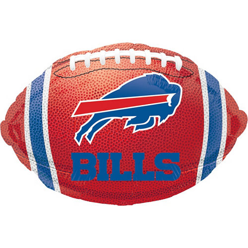 Buffalo Bills Jersey Foil Balloon Bouquet, 5pc Image #5