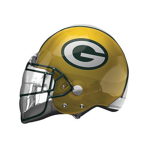 Green Bay Packers Helmet Foil Balloon Bouquet, 5pc Image #3