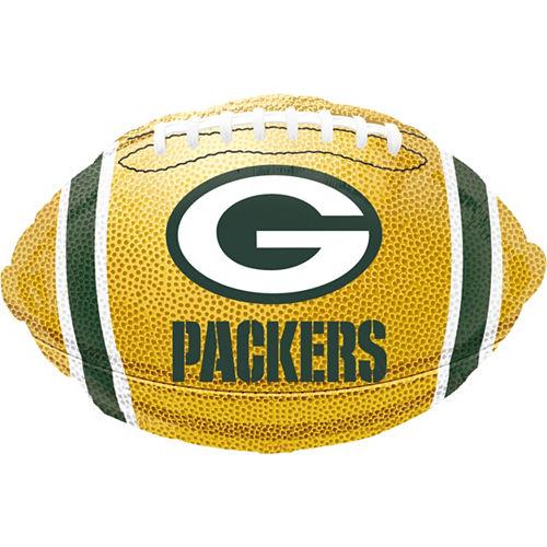 Green Bay Packers Helmet Foil Balloon Bouquet, 5pc Image #5