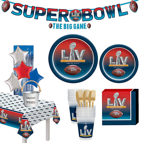 Premium Super Bowl Party Kit for 10 Guests Image #1