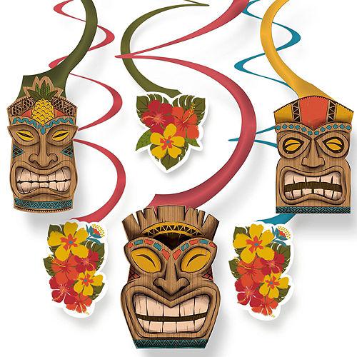 Vintage Tiki Wall Decorating Kit Image #4