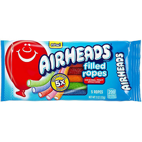 Airheads Filled Ropes Candy, 2oz - Original Fruit Image #1