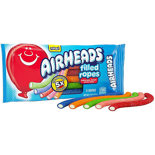 Airheads Filled Ropes Candy, 2oz - Original Fruit Image #2