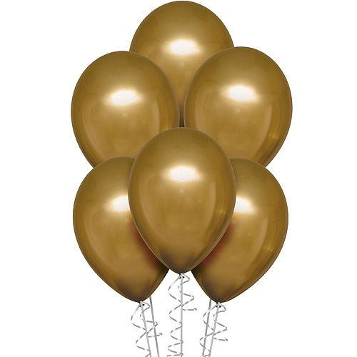 DIY Gold & Pomegranate Balloon Room Decorating Kit, 21pc Image #4