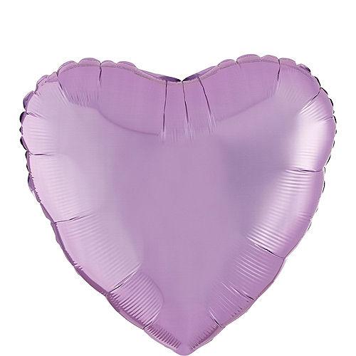 DIY Air-Filled Pink, Purple & Rose Gold Mom Balloon Wall Kit, 20pc Image #2