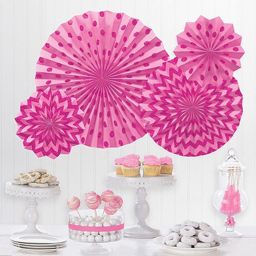 DIY Air-Filled Silver & Pink Number 1 Mom Balloon Phrase Banner Kit, 13in Letters, 10pc Image #7