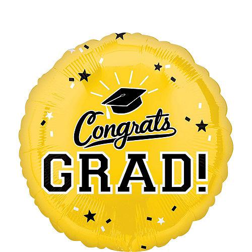 DIY Blue & Yellow Graduation Balloon Backdrop Kit, 33pc Image #5