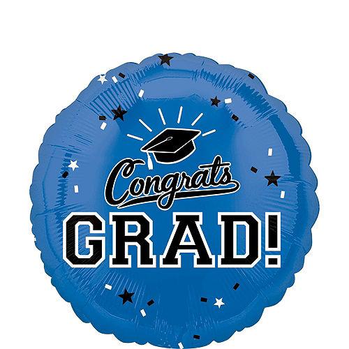 DIY Blue & Yellow Graduation Balloon Backdrop Kit, 33pc Image #6