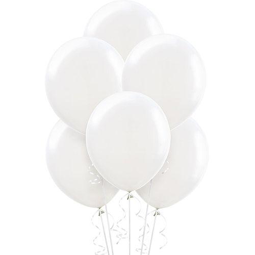 DIY Red & White Graduation Balloon Backdrop Kit, 33pc Image #2