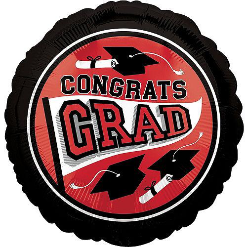DIY Red Graduation Balloon Backdrop Kit, 33pc Image #2