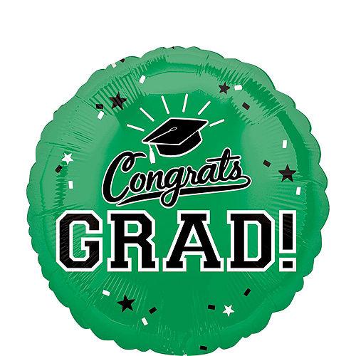 DIY Green Graduation Balloon Backdrop Kit, 33pc Image #5