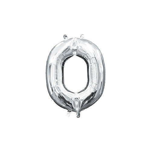 DIY Air-Filled Gold & Silver Congrats Balloon Phrase Banner, 13in Letters, 8pc Image #4