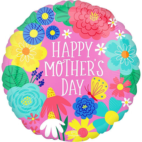 AirLoonz Pretty Flowerpot Mother's Day Balloon Kit, 4pc Image #3