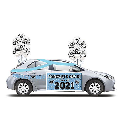 2021 Light Blue Drive-By Graduation Kit Image #1