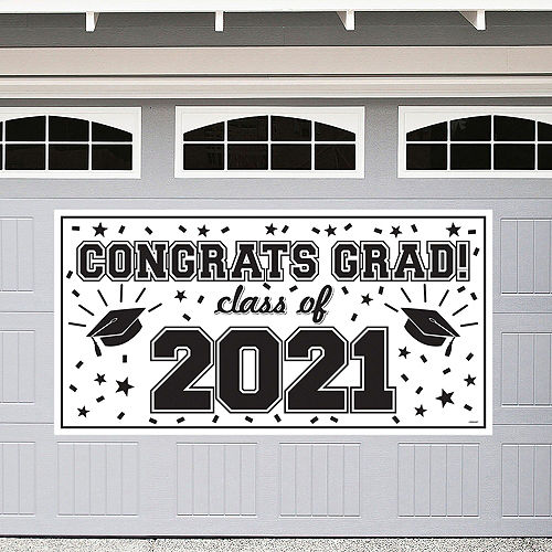 2021 White Drive-By Graduation Kit Image #2