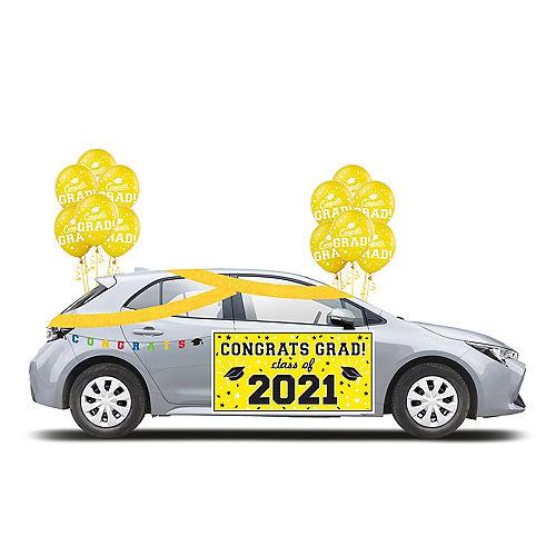 2021 Yellow Drive-By Graduation Kit Image #1