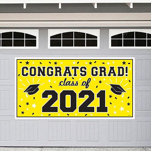 2021 Yellow Drive-By Graduation Kit Image #2