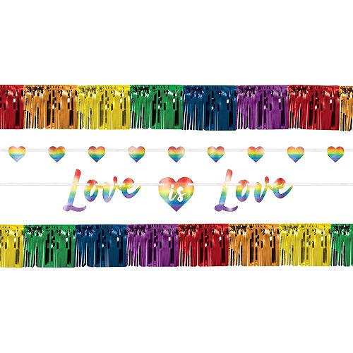 Love is Love Pride Porch Decorating Kit Image #2