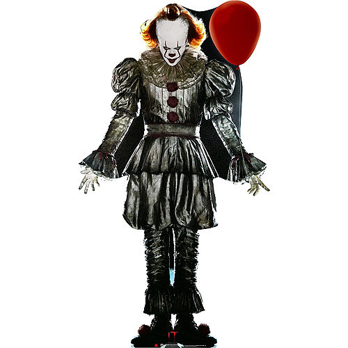 Pennywise Cardboard Cutout, 6.3ft - IT Chapter 2 Image #1