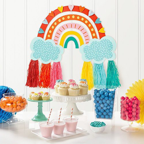 Retro Rainbow Decorating Kit Image #3