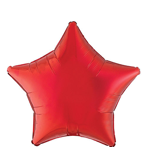 Patriotic American Flag Balloon Bouquet, 12pc Image #3