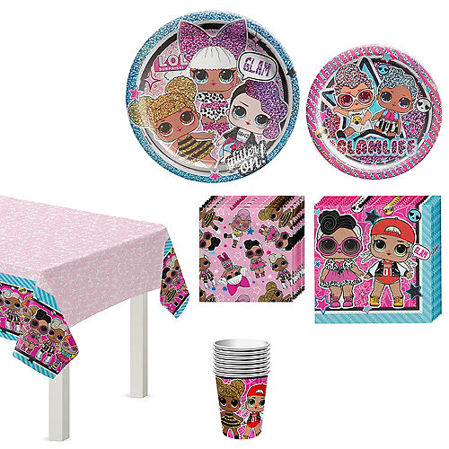L.O.L. Surprise! Together 4-Eva Birthday Party Kit for 8 Guests Image #1