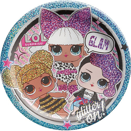 L.O.L. Surprise! Together 4-Eva Birthday Party Kit for 8 Guests Image #3