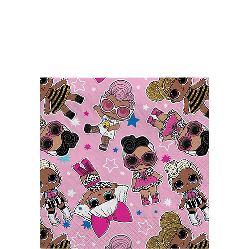 L.O.L. Surprise! Together 4-Eva Birthday Party Kit for 8 Guests Image #4