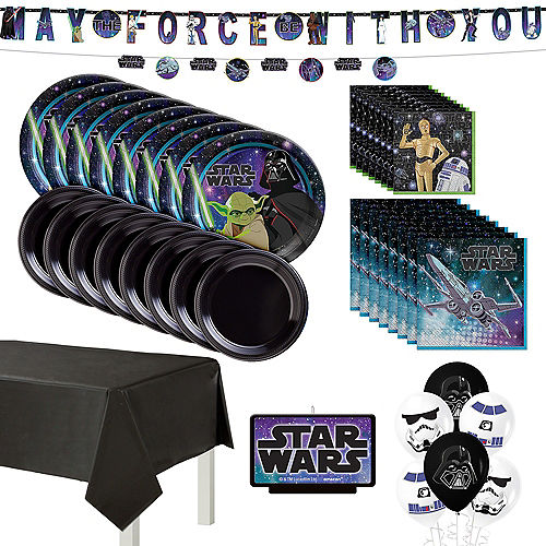 Star Wars Galaxy of Adventures Party Kit for 16 Guests Image #1