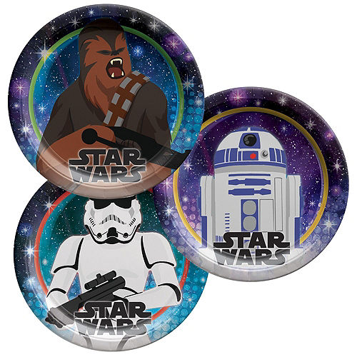 Star Wars Galaxy of Adventures Party Kit for 16 Guests Image #2