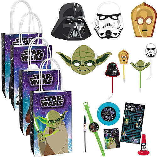 Star Wars Galaxy of Adventures Party Favor Kit for 8 Guests Image #1