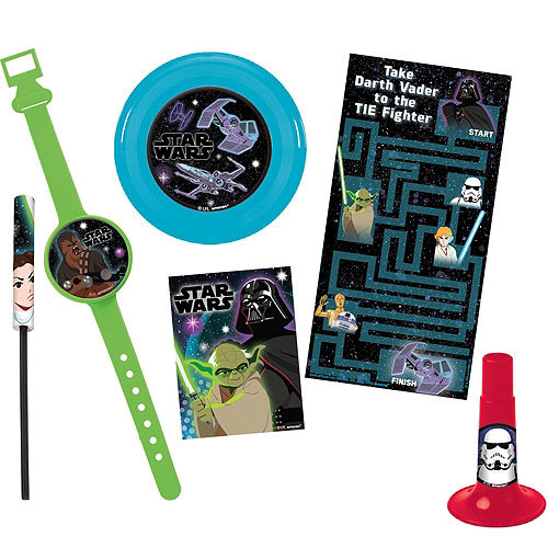 Star Wars Galaxy of Adventures Party Favor Kit for 8 Guests Image #3