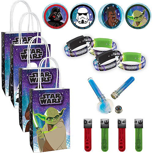 Star Wars Galaxy of Adventures Ultimate Party Favor Kit for 8 Guests Image #1