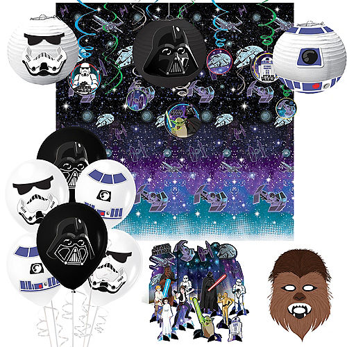 Star Wars Galaxy of Adventures Room Decorating Kit Image #1