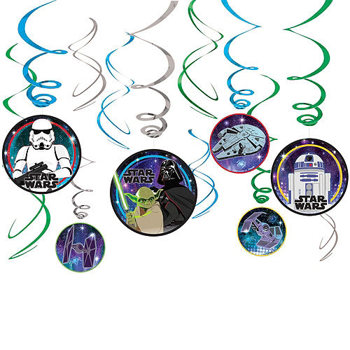 Star Wars Galaxy of Adventures Room Decorating Kit Image #7