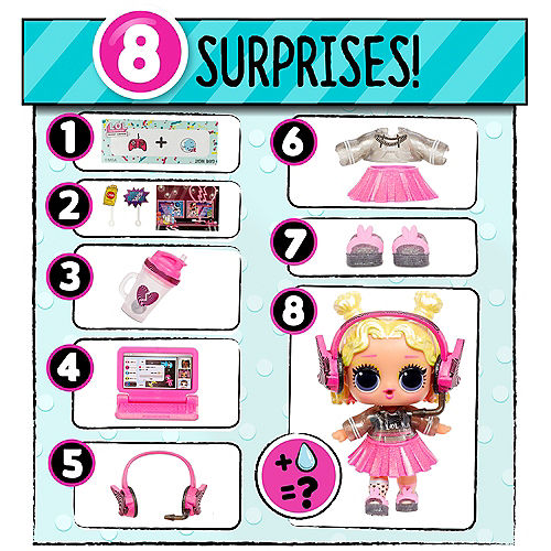 L.O.L. Surprise! Present Surprise™ Birthday Month Themed Mystery Pack with 8 Surprises - Series 3 Image #4