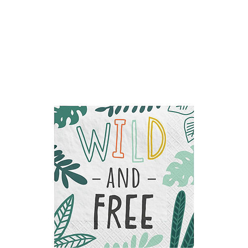 Get Wild Jungle Birthday Party Kit for 16 Guests Image #4