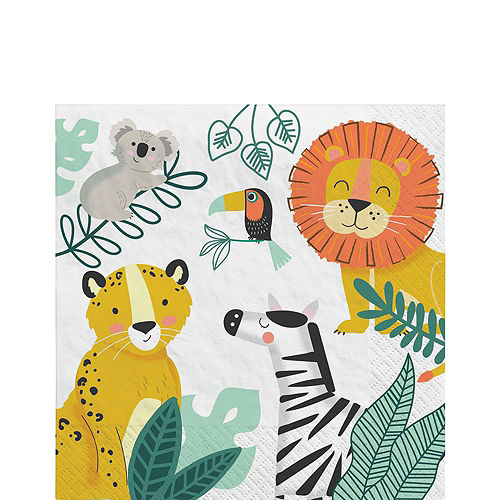 Get Wild Jungle Birthday Party Kit for 16 Guests Image #5